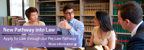 Law - Homepage Banner Law Pathway